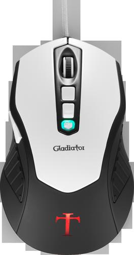 Mouse Gamer Templarius Gladiator EN54584 - Aerocool