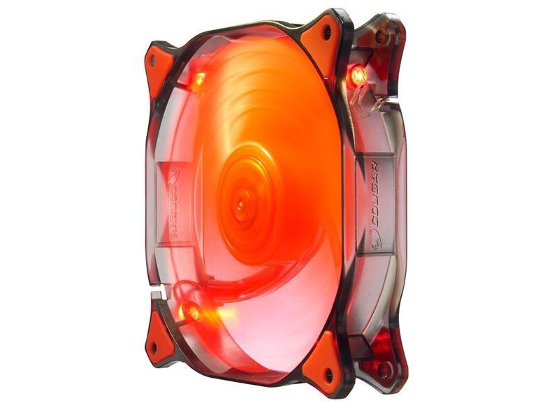 Cooler para Gabinete 120mm Dual-X Red LED CF-D12HB-R - Cougar