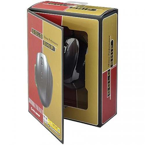 Mouse Gamer Tiger USB Preto 6868 - Leadership