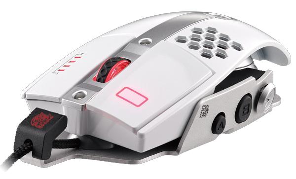 Mouse Gamer TT Sports Level 10M Branco MO-LTM009DTJ - Thermaltake