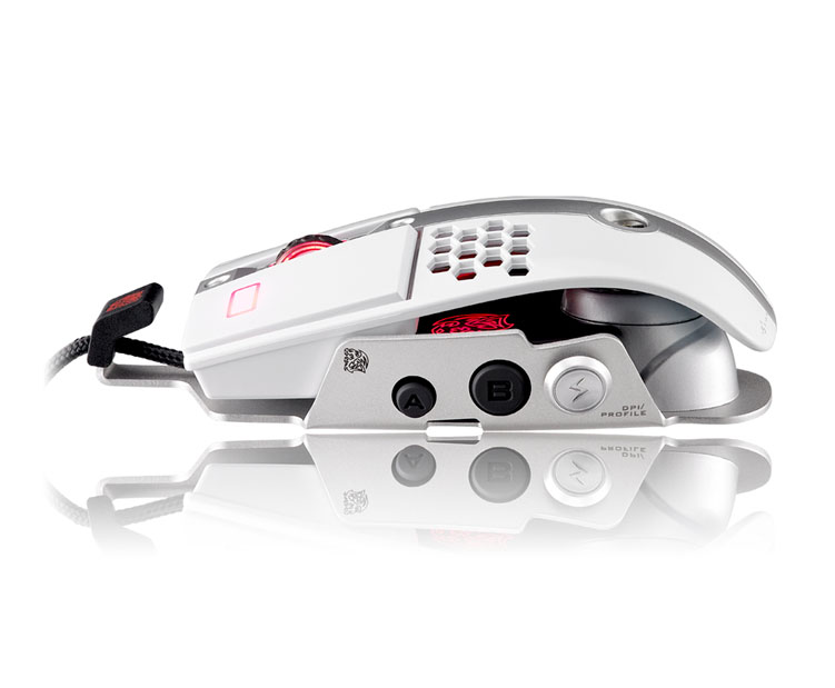 Mouse Gamer TT Sports Level 10M Branco MO-LTM009DTJ - Thermaltake