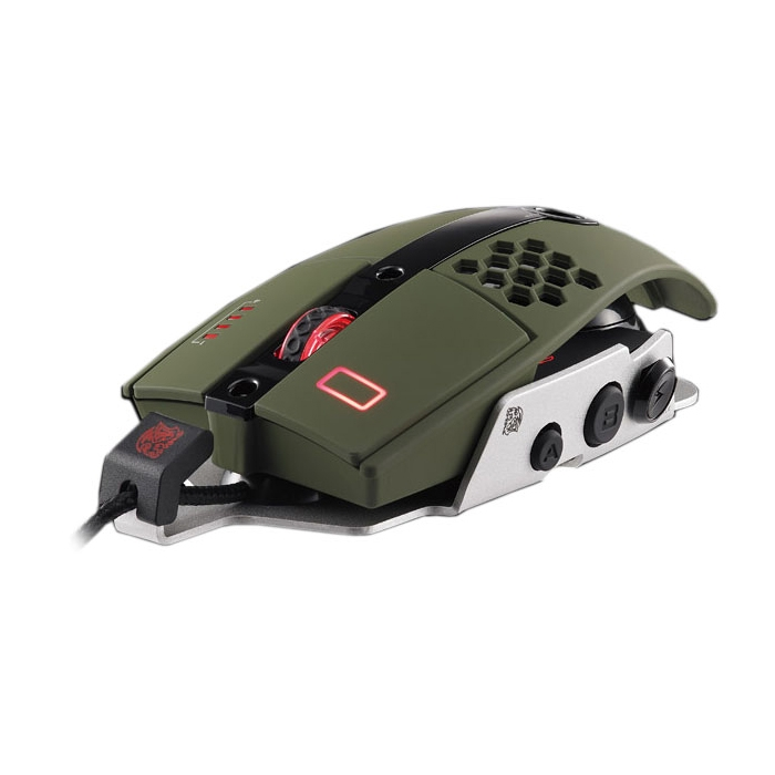 Mouse Gamer TT Sports Level 10M Militar Verde MO-LTM009DTK - Thermaltake