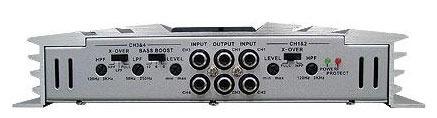Amplificador 4x175 RMS Em 2 OHMS RC-755 Prata - B52