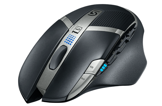 Mouse Gamer Wireless G602 USB 2500 DPI 910-003820 - Logitech