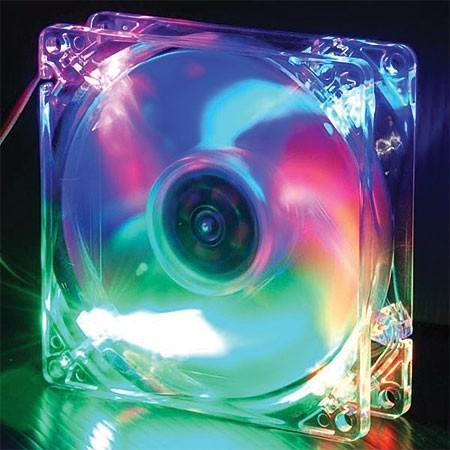 Cooler para Gabinete 120mm Multicolor CLB 1 2025-4LD1 - Evercool