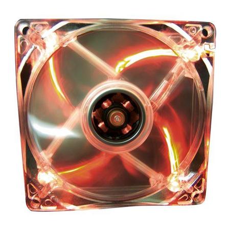 Cooler Color Led 12VDC Vermelho (31841) - Fortrek