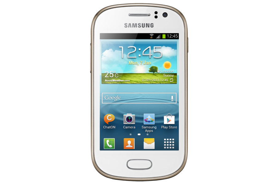 Smartphone Galaxy Fame Duos GT-S6812B Branco - Samsung