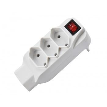 Plug Adaptador 4 Entradas SL6012  AD129 - KNUP