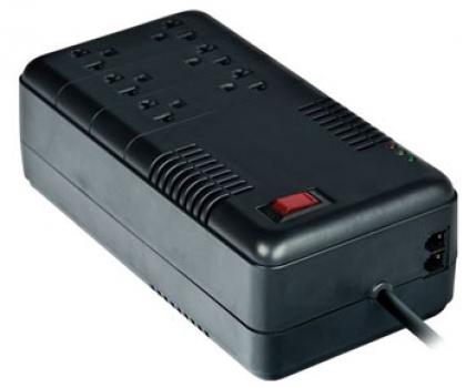 Protetor de Surto 600VA 6 tomadas MONOVOLT 127V AC - C3tech -