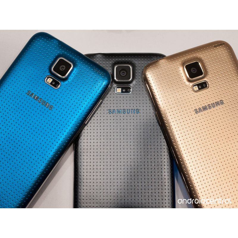 Smartphone Galaxy S5 com Android 4.4, Dual Chip, Quad Core 2.5 Ghz e C�mera de 16 MP com Flash Azul LED G900MD - Samsung