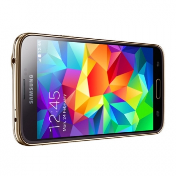 Smartphone Galaxy S5 com Android 4.4, Quad Core 2.5 Ghz e Câmera de 16 MP com Flash Dourado LED SM-G900M - Samsung