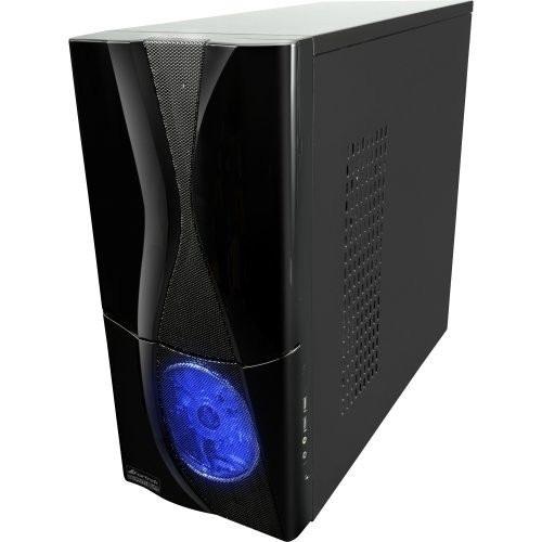 Gabinete ATX Gamer Mystique Azul - Fortrek