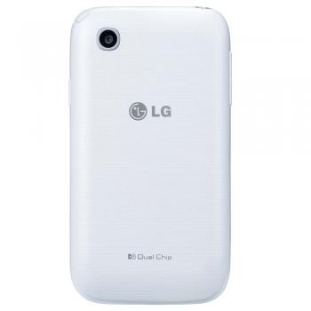 Celular L35 Dual TV D157 Branco Tela de 3,2, Dual Chip, TV Digital, Android 4.4, Camera 3MP e Processador Dual Core
