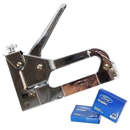 Grampeador Tapeceiro para Grampo FD434 4 a 10MM Coroa 10 a 12 U - FORD