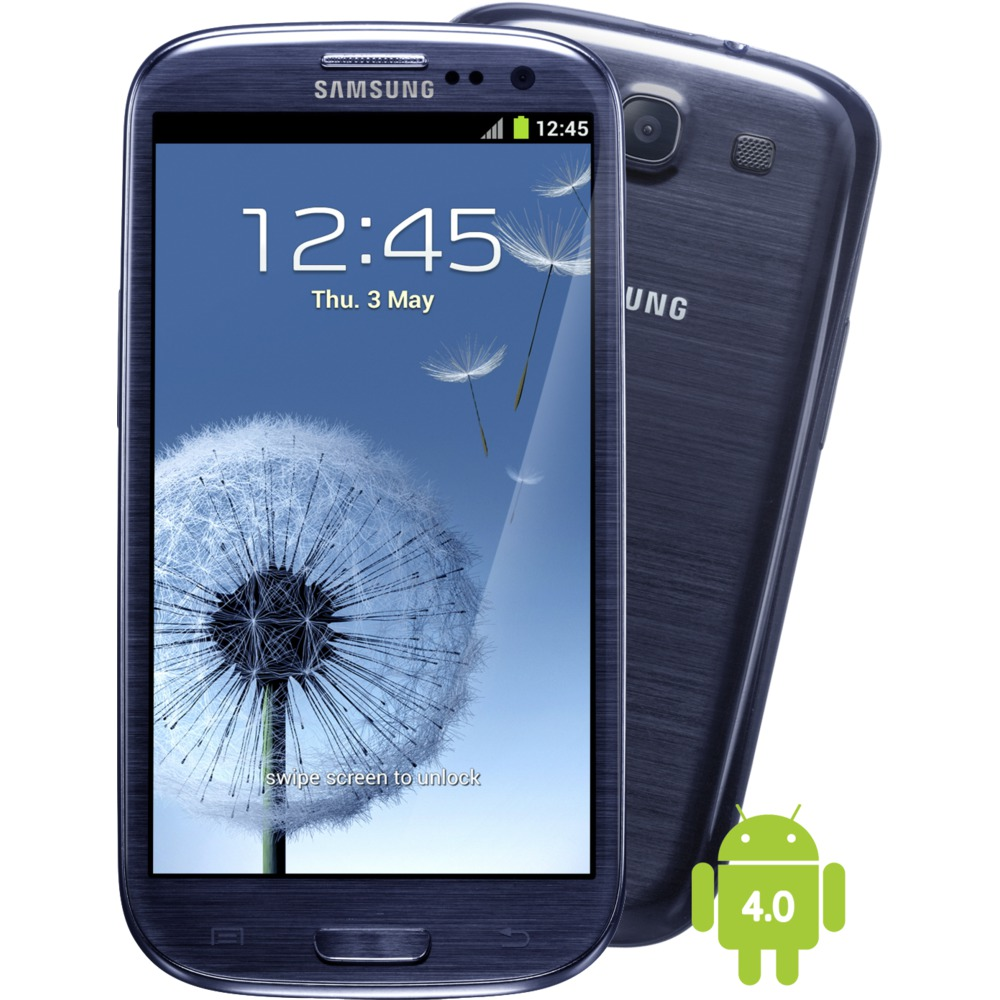 Celular Smartphone Galaxy SIII Neo I9300I Grafite Dual Chip, Android 4.3, Camera 8MP, Tela 4,8, Quad Core 1.4 GHz, 3G, W