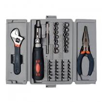Kit de ferramenta manual 42 pecas FKF 4201 - com maleta elastica - Freeway