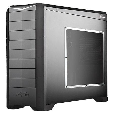 Gabinete Full-Tower Raven Series Preto SST-RV02B-EW-USB3.0 - G410RV02BEW0120 - - Silverstone