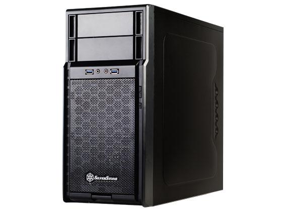 Gabinete Mid-Tower Precision Series Preto SST-PS08B - G410PS08B000020 - Silverstone