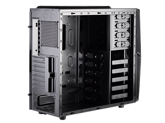 Gabinete Mid-Tower Precision Series Preto SST-PS10B - G410PS10B000020 (22065) - Silverstone -