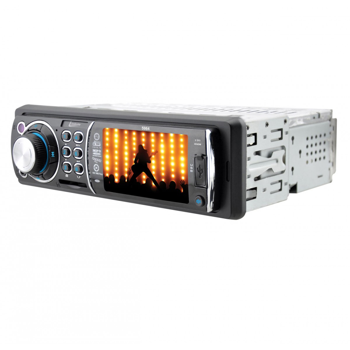 Radio MP5 Automotivo Toucan 5984 USB - Leadership