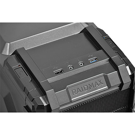 Gabinete Gamer Vortex 402WB Preto (21451) - Raidmax
