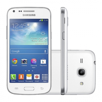 Smartphone Galaxy Core Plus TV G3502 Branco, Dual Chip, TV Digital, Camera 5MP, 3G, Wi-Fi, Tela 4,3, Bluetooth