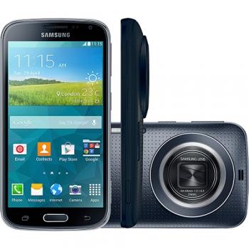 Smartphone Galaxy K Zoom C115M Desbloqueado - 8GB, 20.7 MP, Android 4.4, Preto, Zoom Optico 10x, Flash Xenon - Samsung