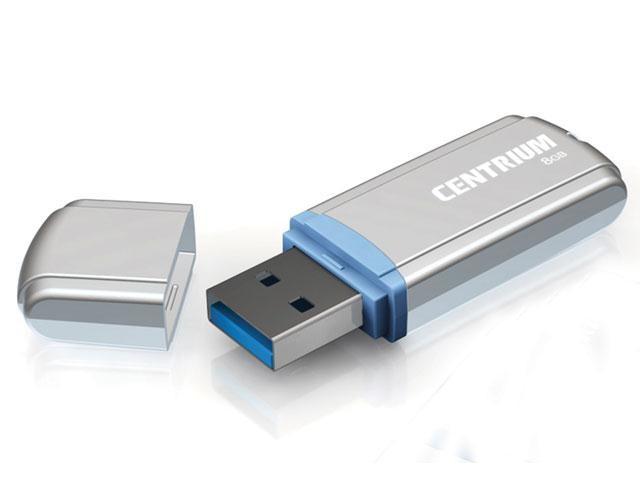Pen Drive 8GB CPD8MP USB Drive 2.0 Prata - Centrium