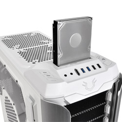 Gabinete Full Tower TT Revo Snow Edition VO200M6W2N - Thermaltake