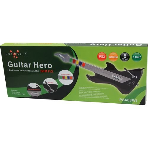 Guitarra Gamer - Guitar Hero PS2 - Integris