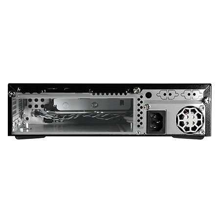 Gabinete MINI-ITX TT SD100 Com fonte 120W VK81221N2U - Thermaltake