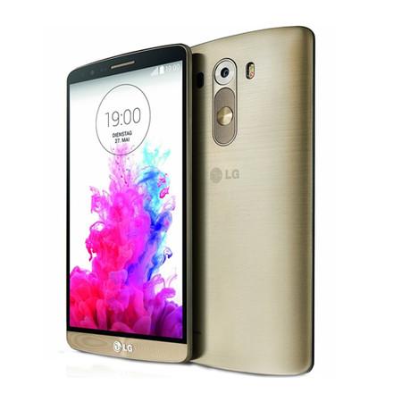 Smartphone G3, 4G, Android 4.4, 16GB, Tela de 5.5, Câmera 13MP, Dourado - D855P + Carregador sem Fio Incluso - LG