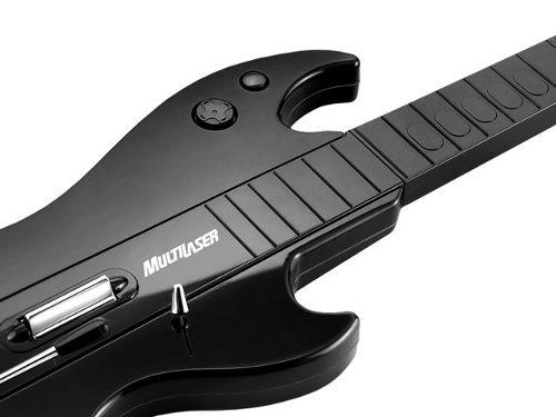 Guitarra S/Fio c/10 Botoes PS2/PS3/WII JS052 - Multilaser