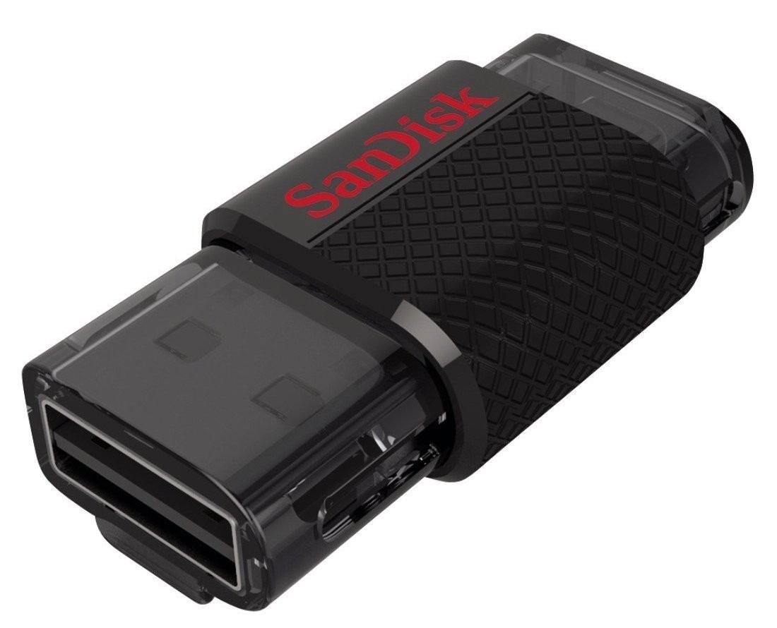 Pen Drive 16GB Ultra Dual USB Drive para Smartphone/Tablet SDDD-016G-L46 - Sandisk