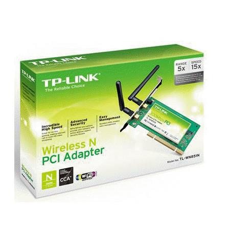 Placa Pci Wireless 300Mb TL-WN851ND - TPLINK