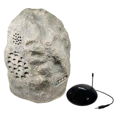 Caixa Acústica Sem Fio - 900 Mhz em Formato Pedra SPK-ROCK - Audio Unlimited