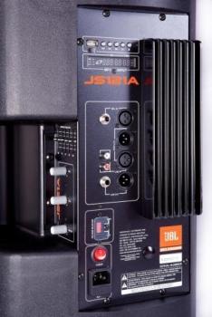 Caixa de Som Acústica Ativa JS121A 150W RMS c/ Player USB 12 Polegadas - JBL