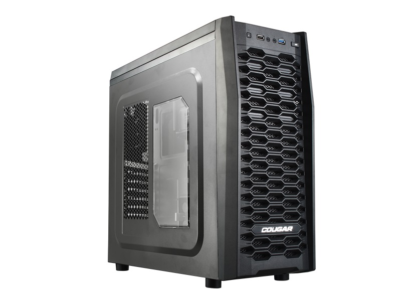 Gabinete ATX MX300 Mid Tower Preto USB 3.0 - Cougar