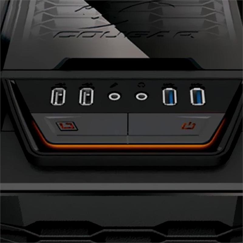 Gabinete ATX MX700 5G02 com Acrílico - Cougar