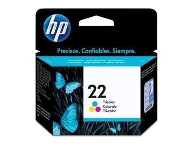Cartucho 22 Colorido C9352AB 6ML - HP