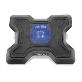 Cooler Para Notebook Com Led e Superfície de Metal AC123 - Multilaser