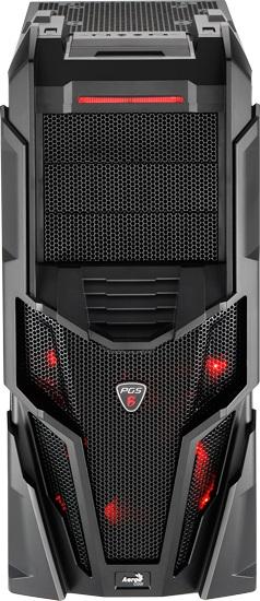 Gabinete ATX Mechatron Black EN57028 - Aerocool