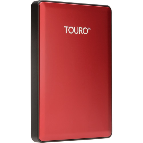 HD Externo 1TB Touro Portátil USB 3.0 7200RPM Vermelho 0S03778 - Hitachi