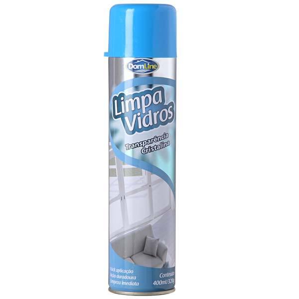 Limpa Vidros Aerosol 400ML/320g - Domline