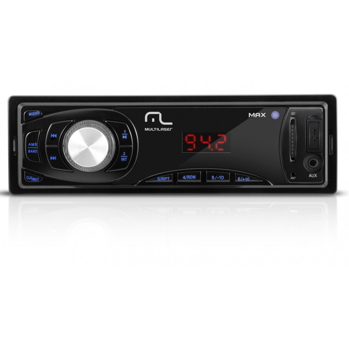 Som Automotivo com leitor USB-SD MAXSOM P3208 - Multilaser