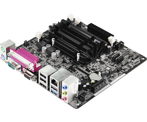 Placa Mãe ITX D1800B-ITX/M/CKD/BRA Com Celeron Dual Core J1800 - AS-ROCK