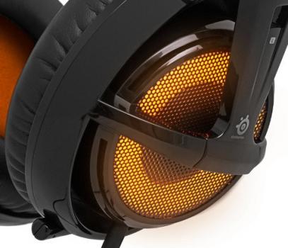 Fone de Ouvido Siberia V2 Heat Orange com Microfone USB (LED Laranja) 51141 - Steelseries