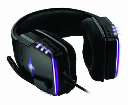 Headset Banshee StarCraft II Heart of The Swarm Over Ear Gaming RZ04-00450100-R3M2 - Razer