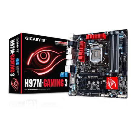 Placa M�e LGA 1150 H97M-Gaming 3 (S/V/R) - Gigabyte