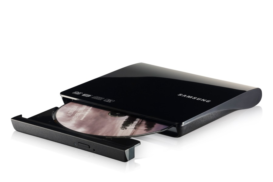 Gravadora de DVD-RW Externo Preto Piano SE208DB/TSBS - Samsung